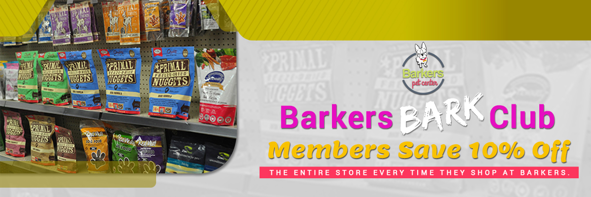 Barker's Bark club Membership