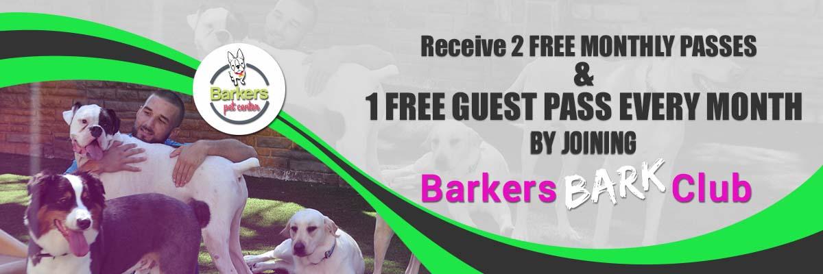 Barkers Bark club Membership